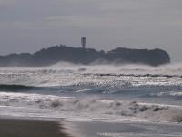 泡立つ海岸