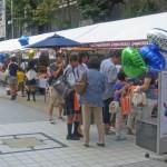神楽坂など近隣商店から出店した飲食販売コーナー